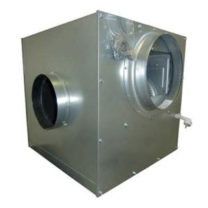Metalen ventilatorbox