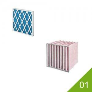 01 Paneelfilters en zakkenfilters