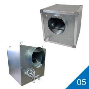 05 Ventilator kasten