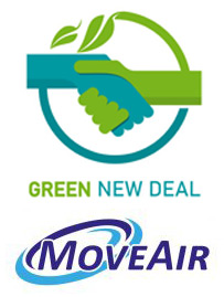 Logo Green New Deal en MoveAir